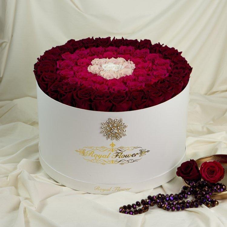 Royal flower rose boxes